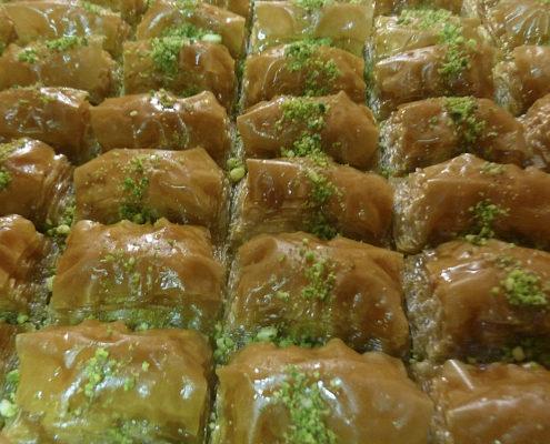 Süße türkische Nachspeise